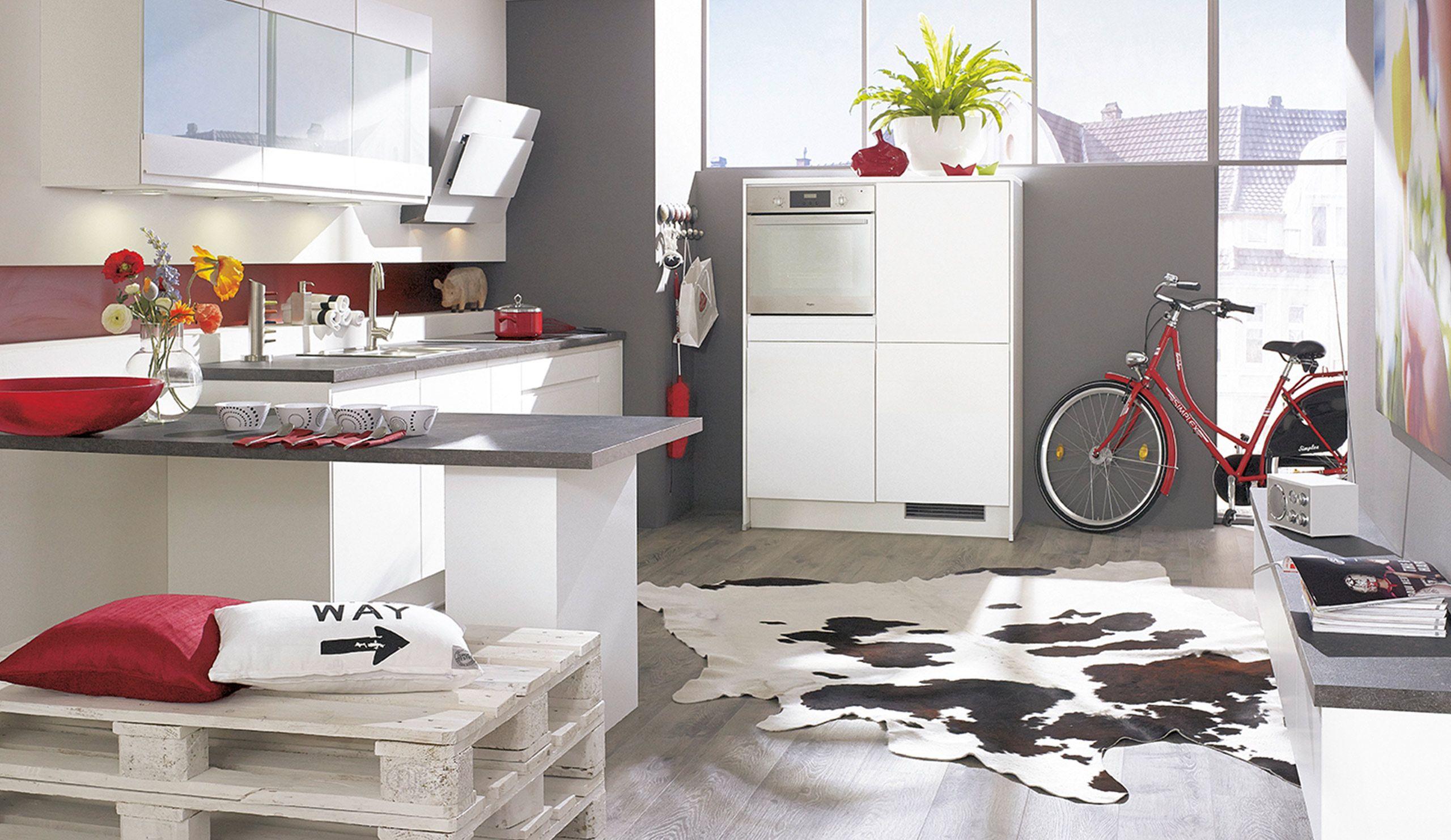 Pura3300 Einbaukuche Weiss Moderne Kuchen Kuche Einbaukuche Und