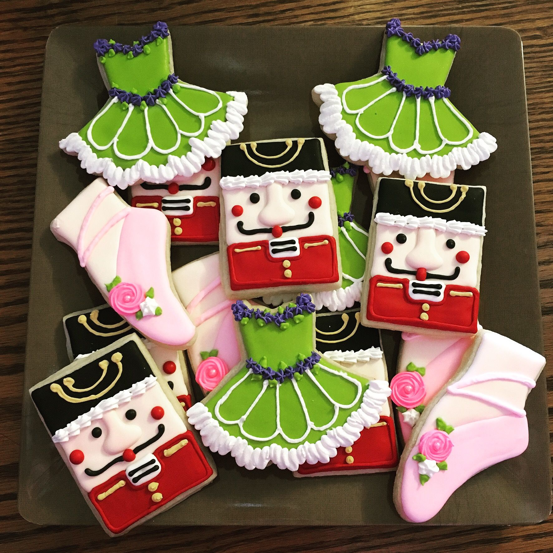 Nutcracker Cookies Marine Momma Confections
