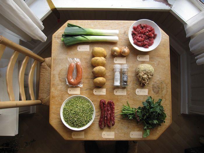 how to make dutch pea soup