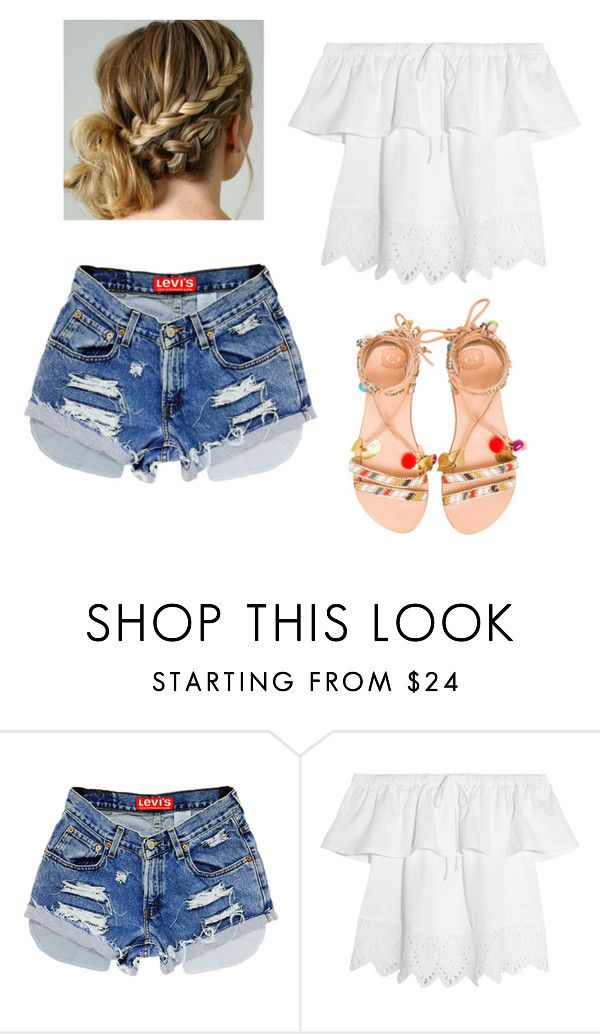 """""""♈️"""" by paradise19t ❤ liked on Polyvore featuring Madewell and Elina Linardaki"""