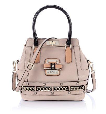 Ellese Small Turnlock Satchel Bag Guess prix promo GUESS 170.00 € TTC