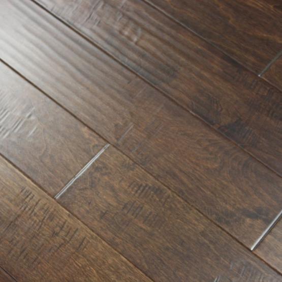 "birch mirage 3/8 x 5"" hand scraped | engineered hardwood flooring"