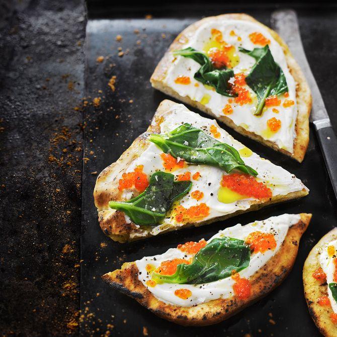 Valkoinen mätipizza - Soppa 365