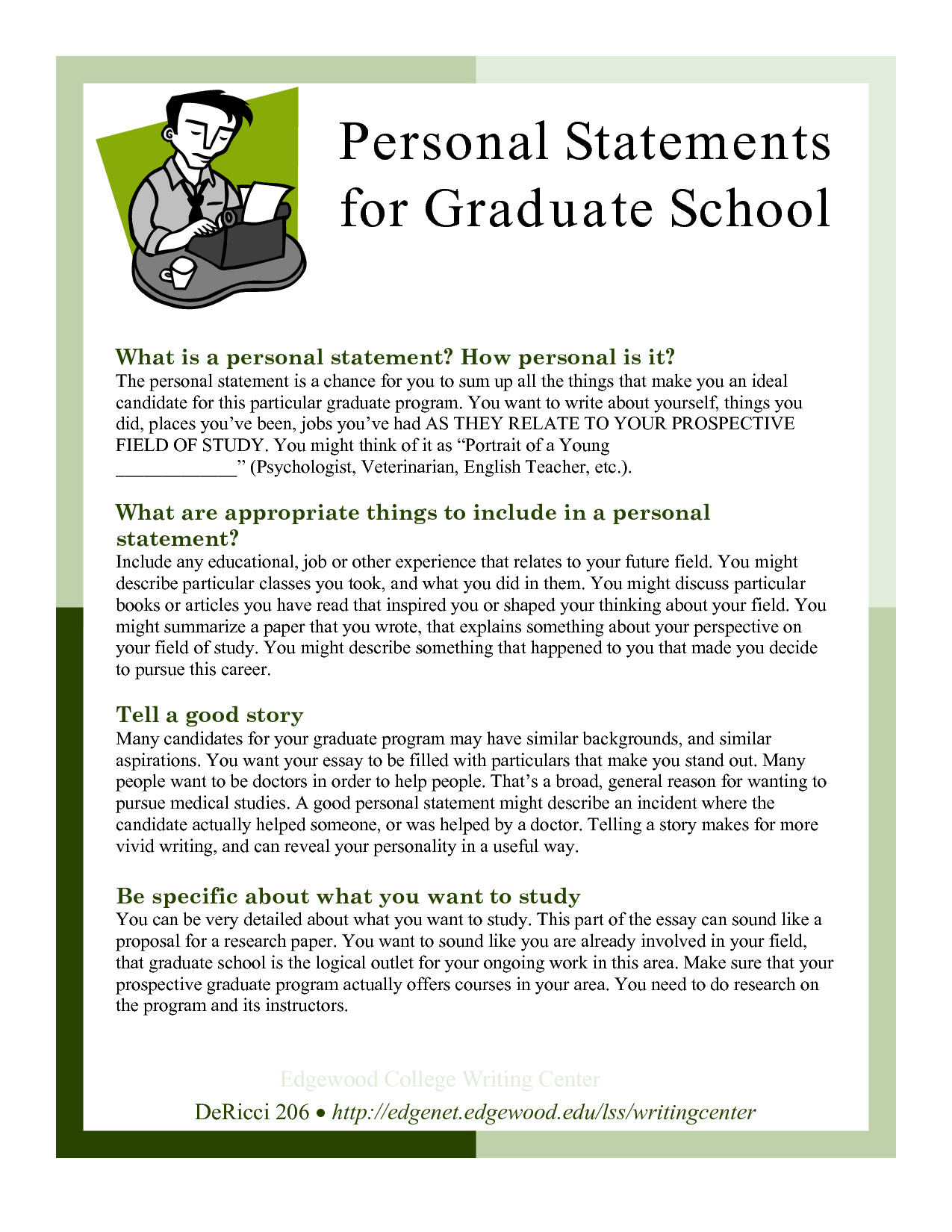 sample personal statements graduate school personal statements for graduate school