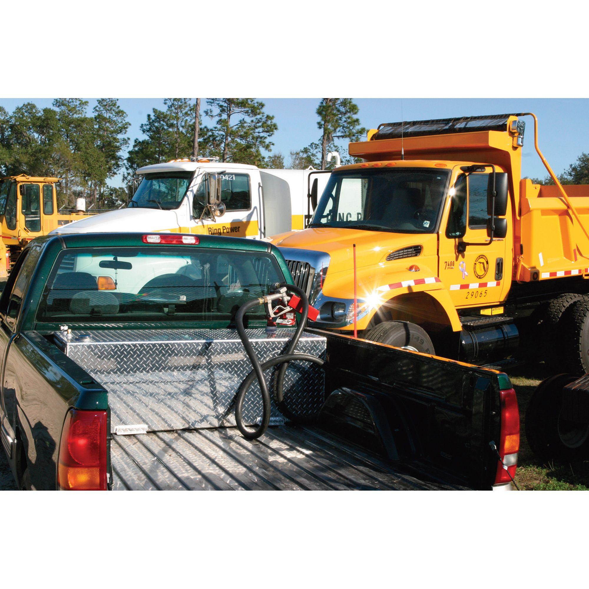 RDS Aluminum Transfer Fuel Tank 60Gallon, Rectangular