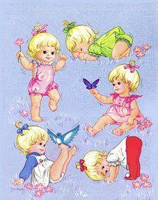 Bonecas de Papel: Baby Thataway