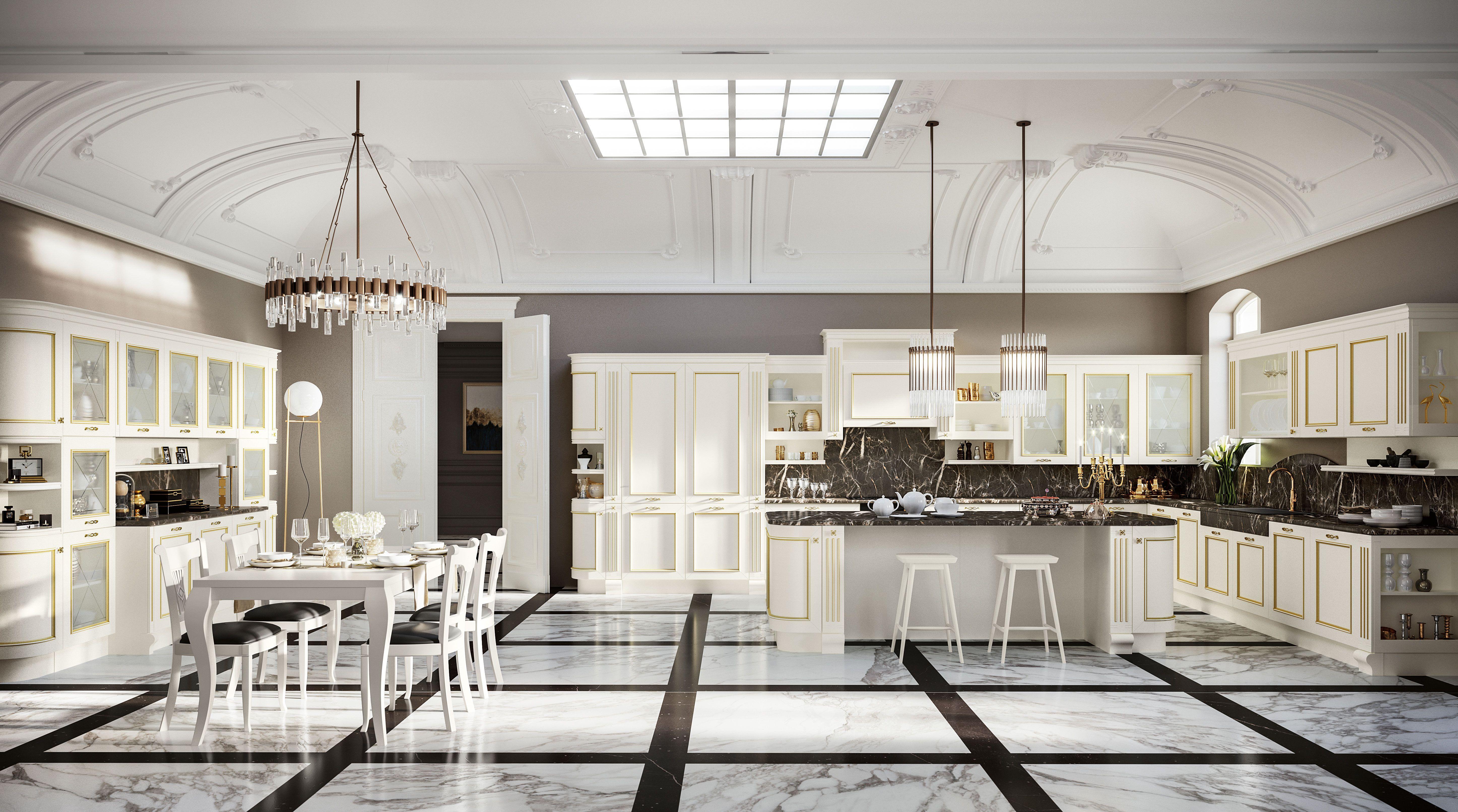 Romantica - Classic Style Kitchens - Kitchens - Febal Casa   Cocinas ...