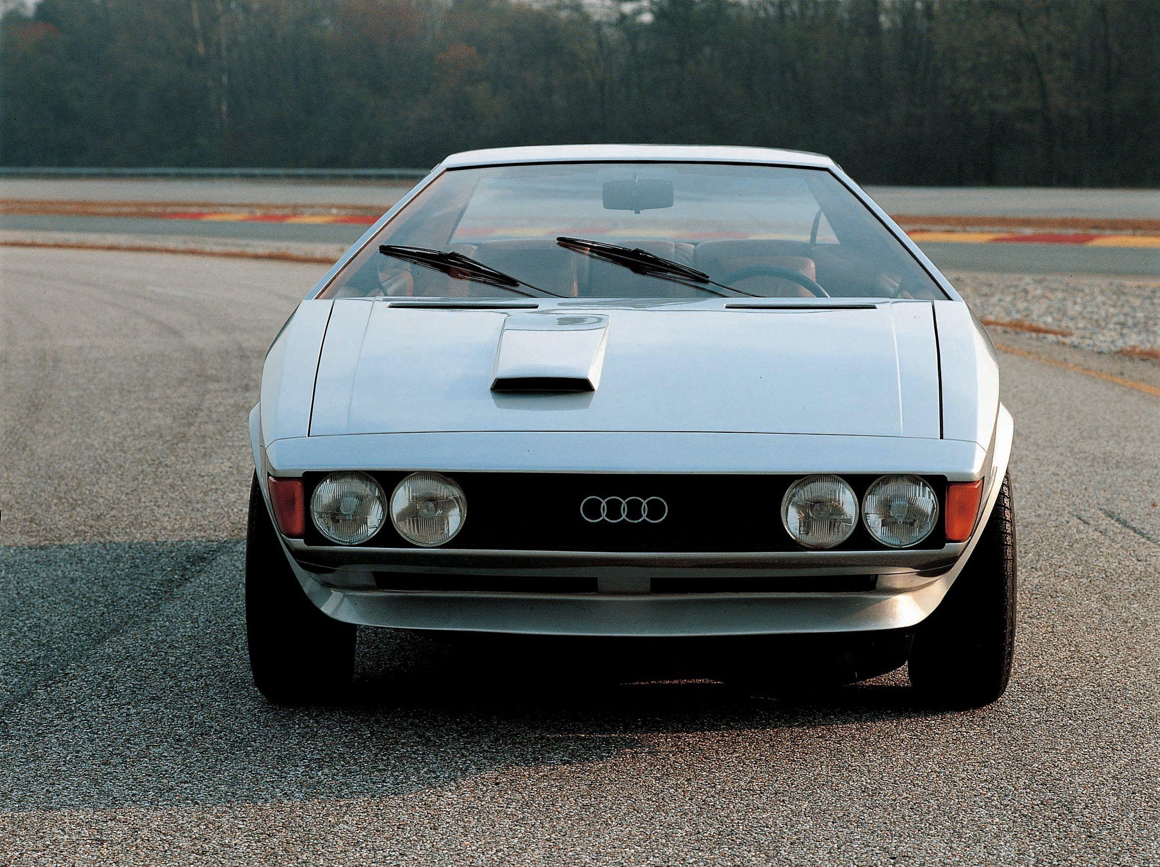 1973 Audi Karmann Asso di Picche by Italdesign   Machines ...