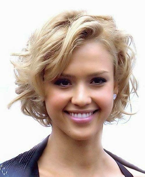 Frisuren kurzes gewelltes haar