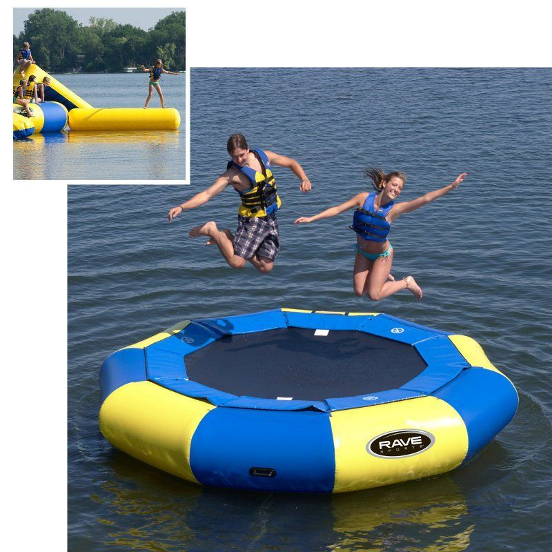 12 ft rave sports aqua jump eclipse water trampoline package rsi336 products pinterest - Trampoline maison ...