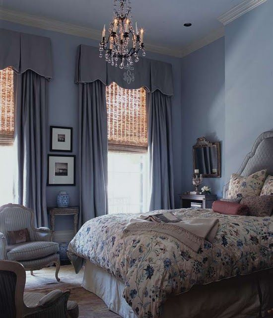Valance over curtains over bamboo shades. Perfect | Home Decor ...