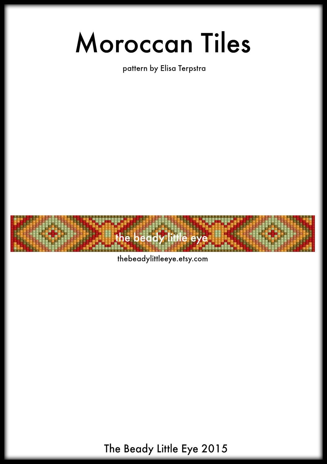 Bead loom pattern loom tutorial beading pattern loom wzory peyote bead loom pattern loom tutorial beading pattern loom baditri Images