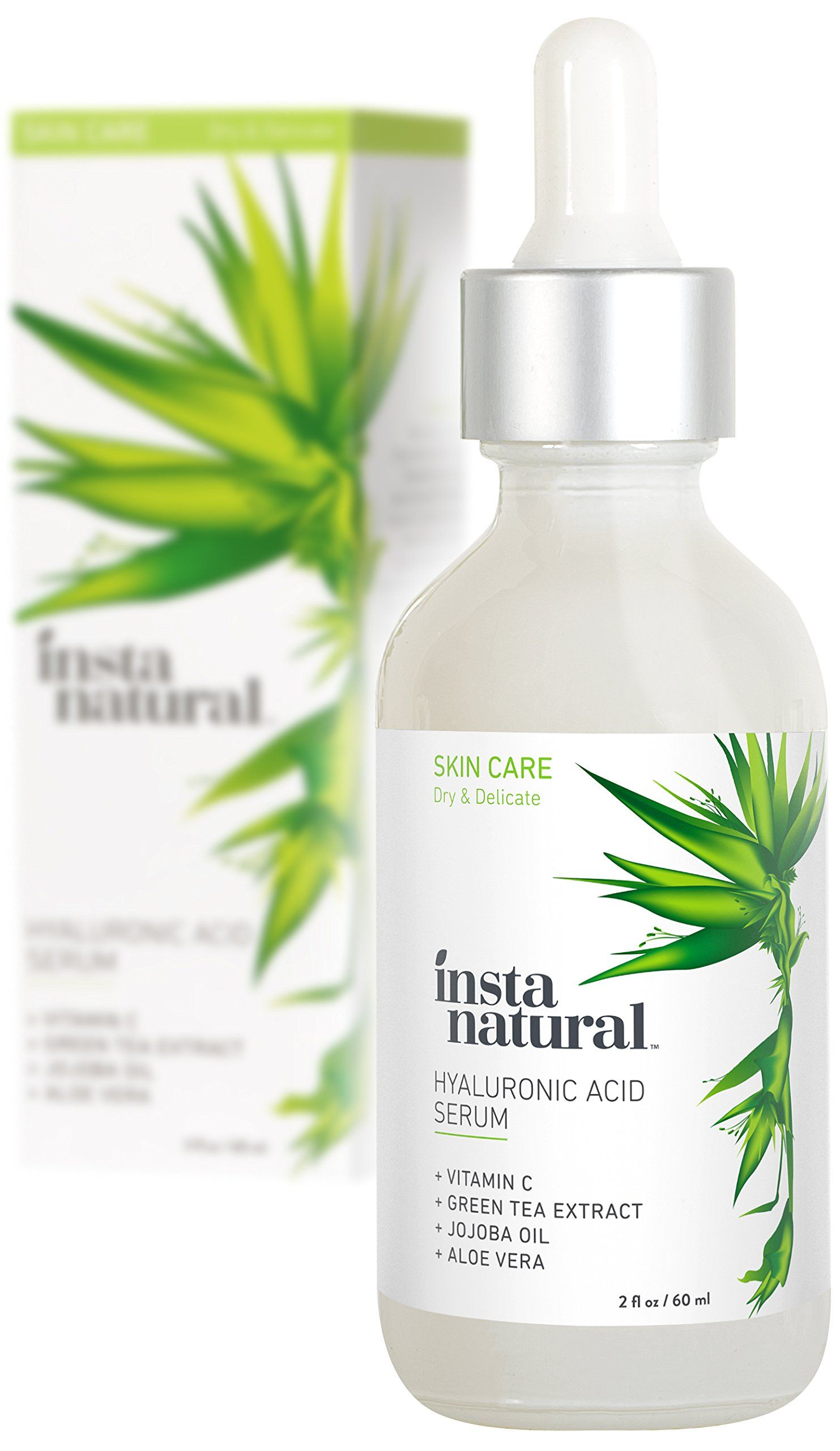 Instanatural hyaluronic acid serum anti aging serum for face