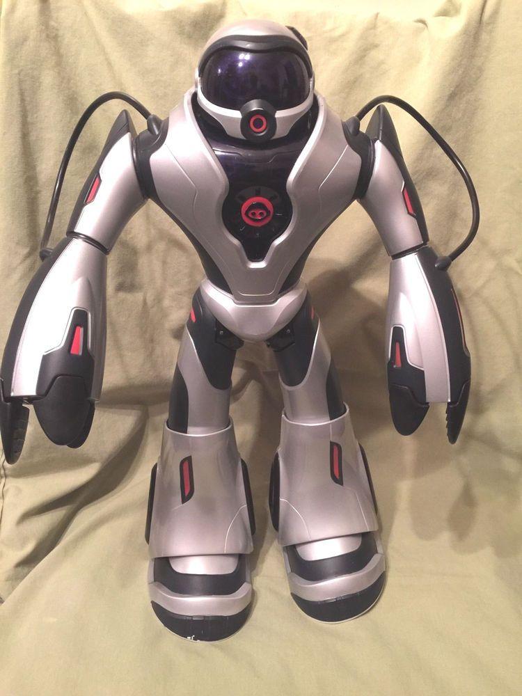 Wowwee Joebot Silver Model Voice Control Command Talking Robot