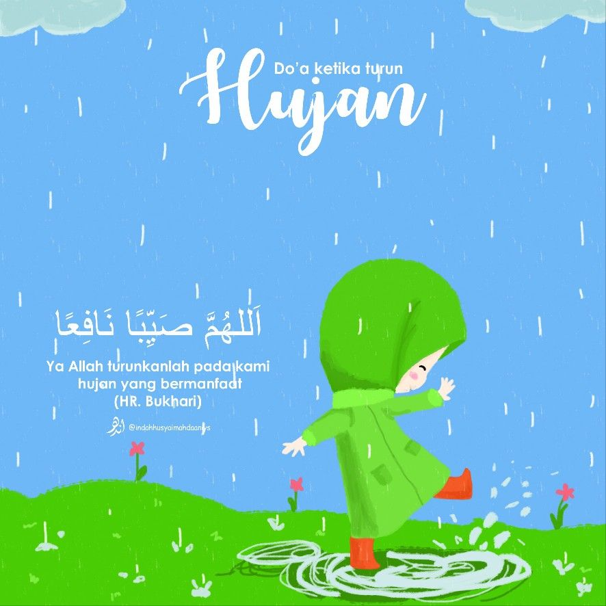 Jangan Lupa Membaca Doa Ketika Hujan Turun Hujan Doa Kutipan