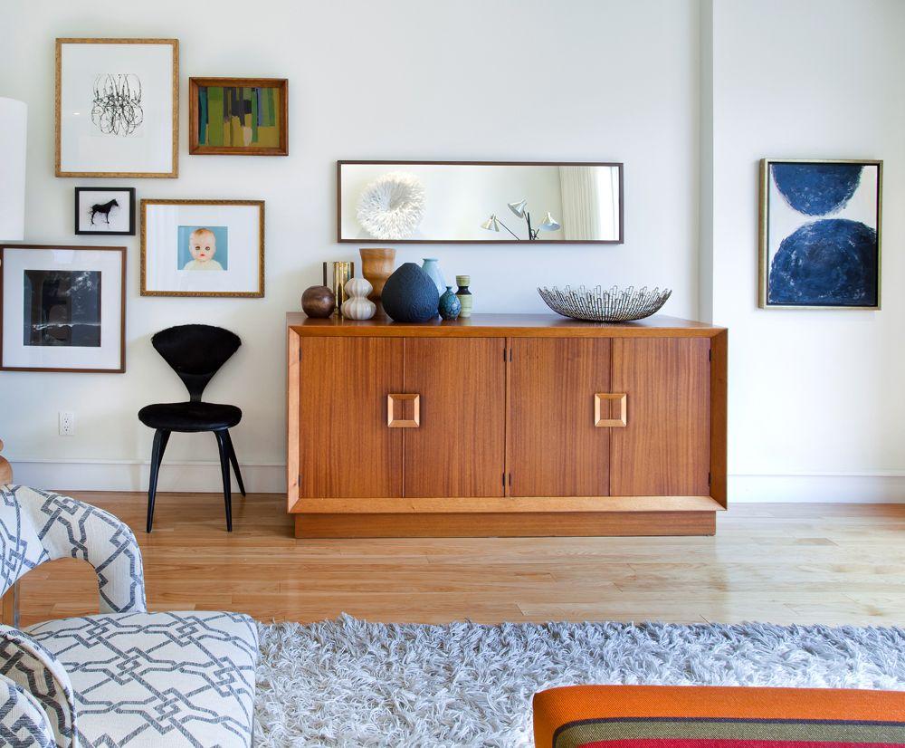 Trend sixties love interiors room decor and room