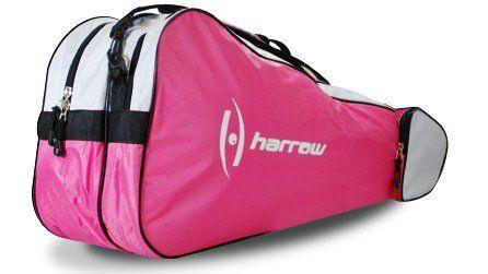 Harrow 3 Racquet Bag Pink White Tennis Bags Tennis Racquet Bag Racquet Bag