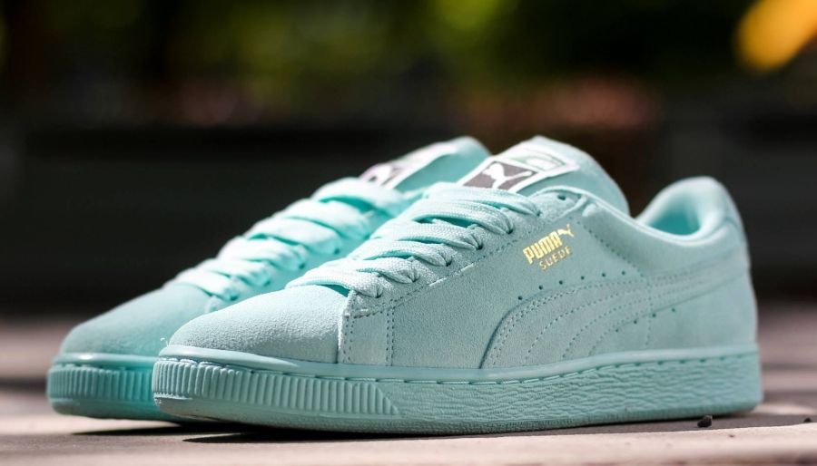 Puma Basket Light Blue