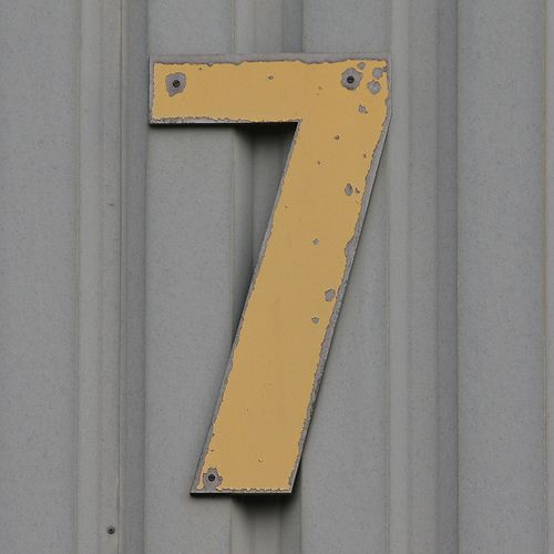 Number 7 By Leo Reynolds, Via Flickr