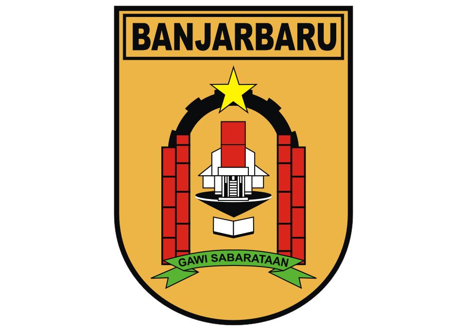 Logo Pemkab Banjarbaru Vector Desain