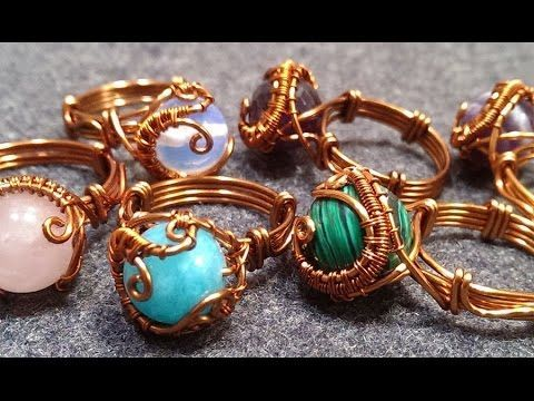 handmade jewelry - Wire Jewelry Lessons - DIY - How to make wire ...