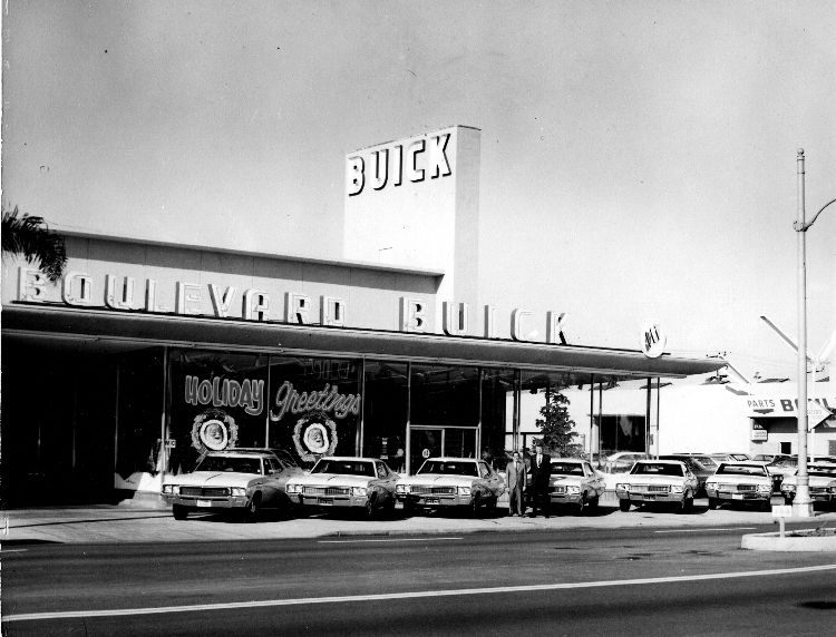 Our History Boulevard BuickGMC  Buick GMC Dealership With New - Car signal hill