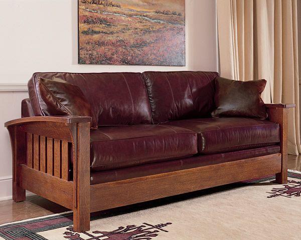 Stickley Orchard Street Sofa Craftsman Sofas Other Metro Furniture