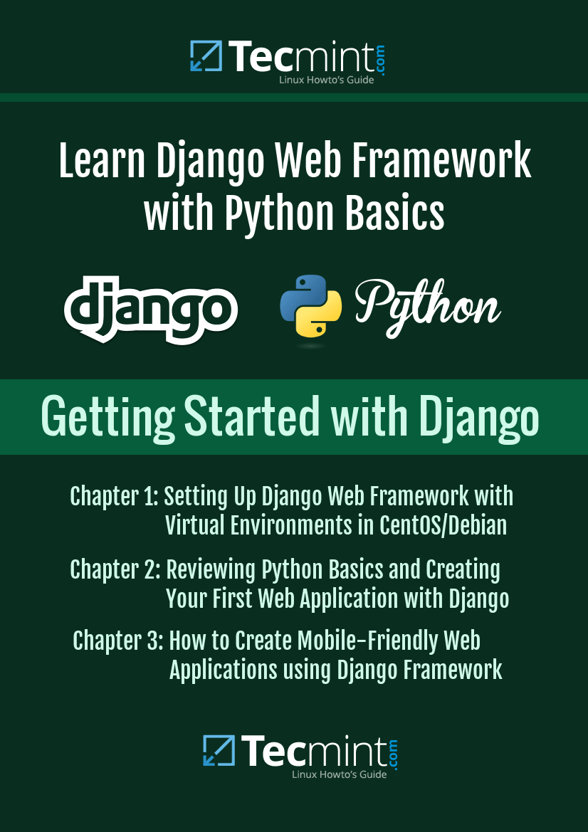 Pin by TecMint: Linux Howto's Guide on Learn Django Web Framework