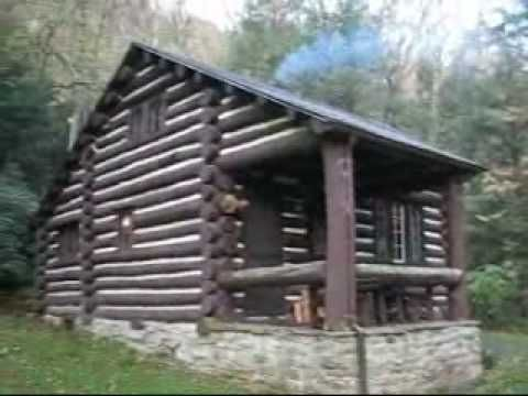 Babcock State Park Cabin #13   YouTube