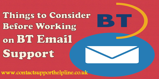 Things To Consider Before Working On Bt Email Support Lettering