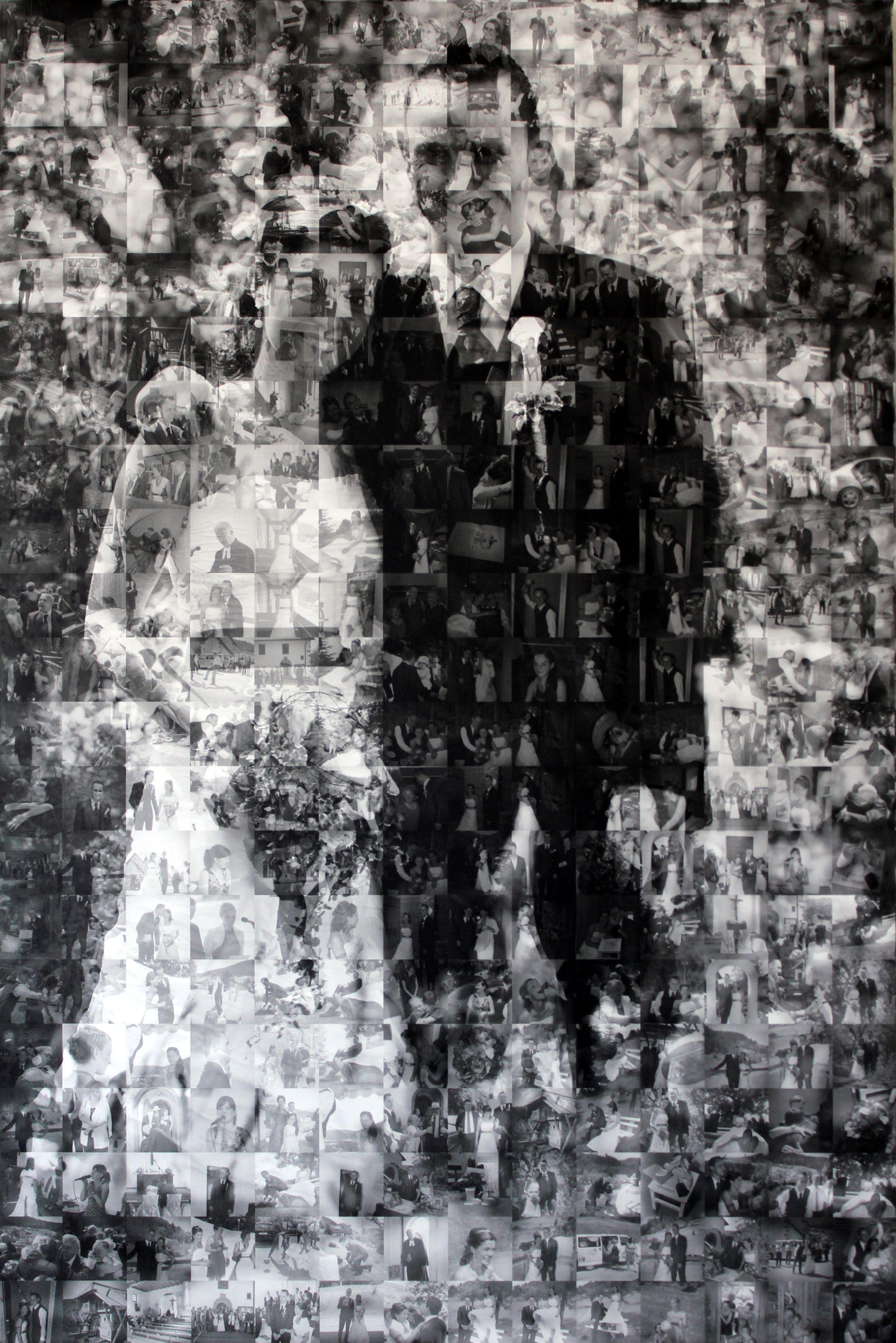 viele kleine bilder verschmelzen zu einem grossen ganzen mit liebe zum detail erstellen wir fur euch ein fotomosaik foto mosaik fotocollage leinwand bestellen auf drucken lassen