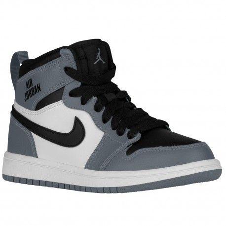 cool grey jordan 1,Jordan AJ 1 High - Boys' Preschool - Basketball - Shoes  - Cool Grey/Cool Grey/White/Black-sku:05303024