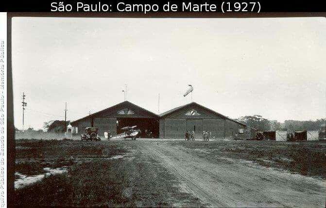 Aeroporto Campo De Marte Com Imagens Sao Paulo