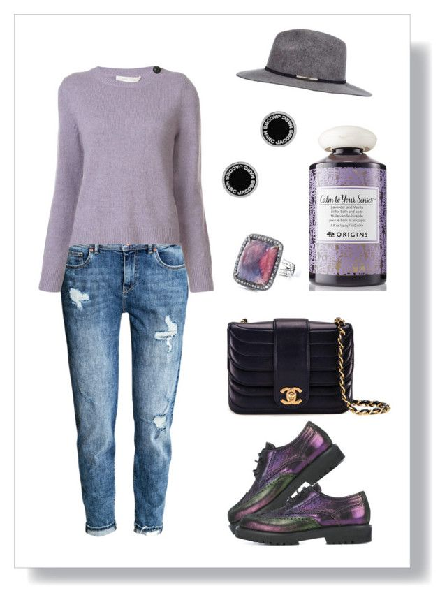 № 419/1 by tigrpuh on Polyvore featuring мода, Marc Jacobs, H&M, A.F. Vandevorst, Chanel, Miss Selfridge and Origins