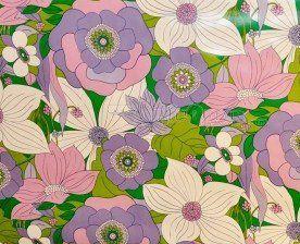 toile grosses fleurs violettes et blanches toiles et simili pour ta commande pinterest toile. Black Bedroom Furniture Sets. Home Design Ideas