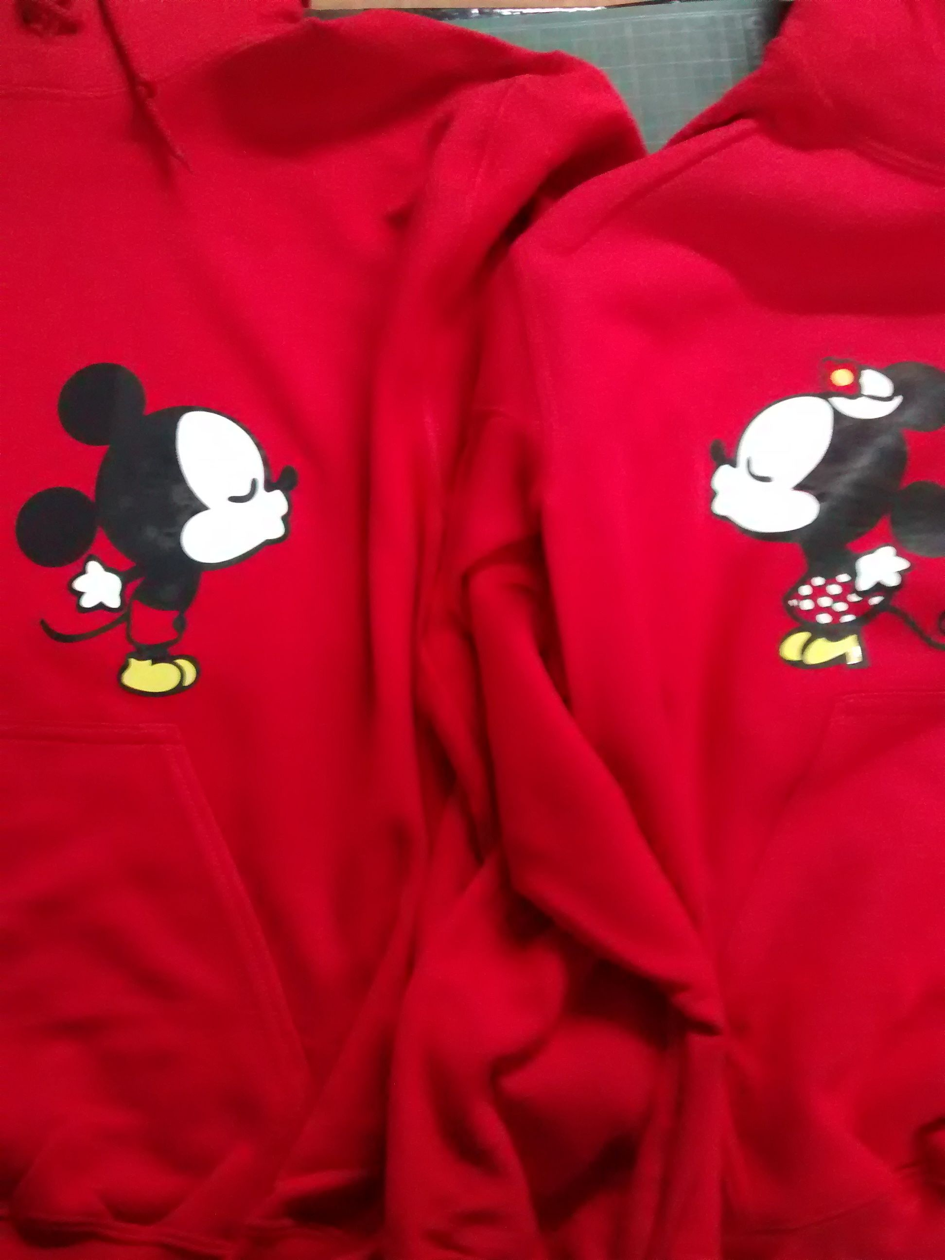 Minnie & Mickey Sudadera
