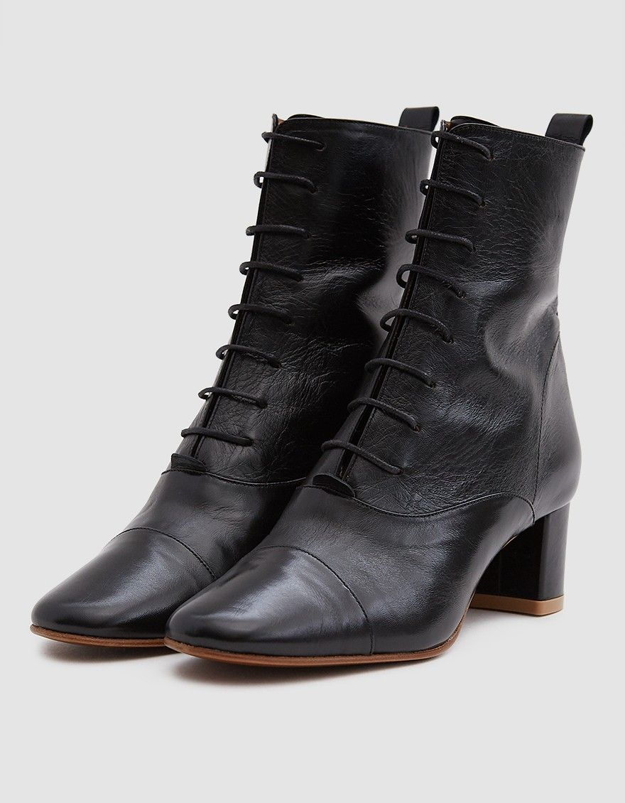 c0ab5fe04af BY FAR / Lada Lace-Up Ankle Boot | Style | Boots, Shoes, Lace up boots