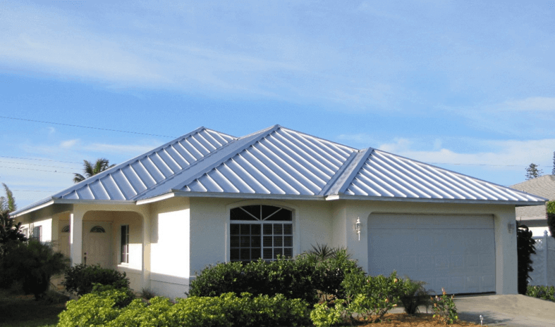 Standing seam metal roofing for homes metal roofing for Images of houses with metal roofs