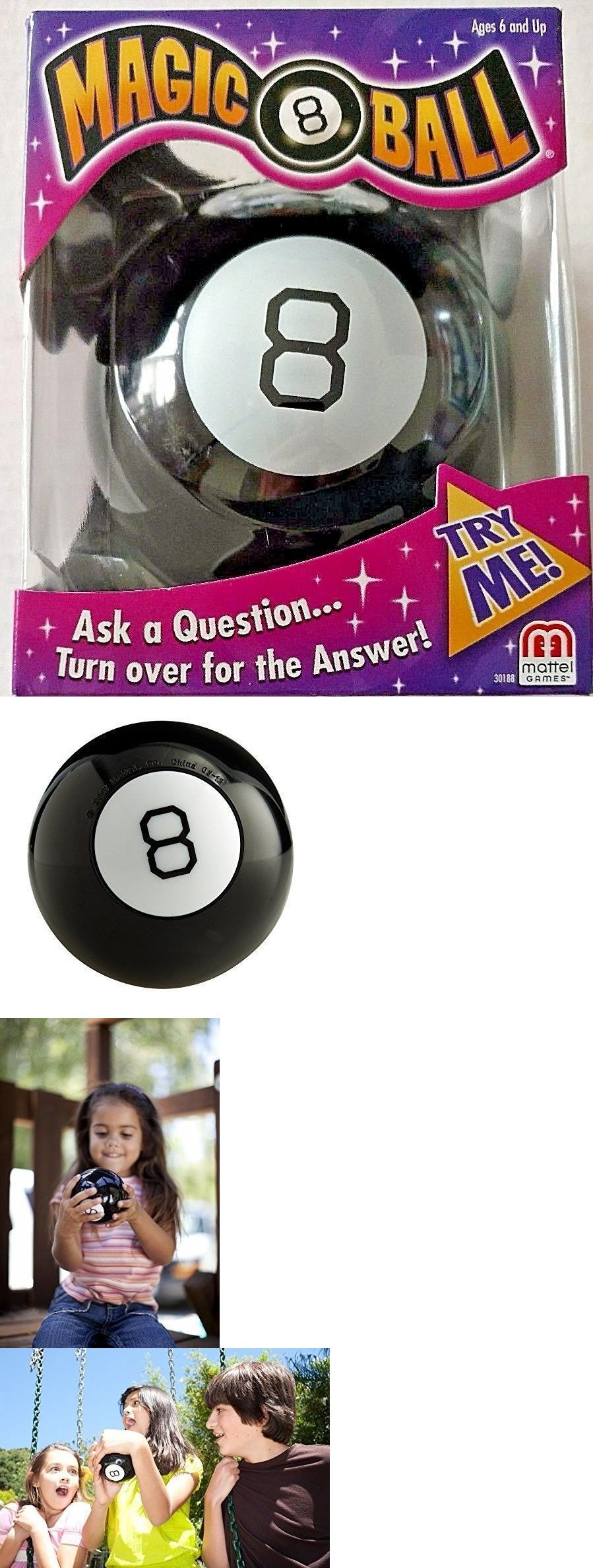 Classic Mattel Magic 8 Ball Toy Vintage Game Fortune Teller Kids Lucky Answers