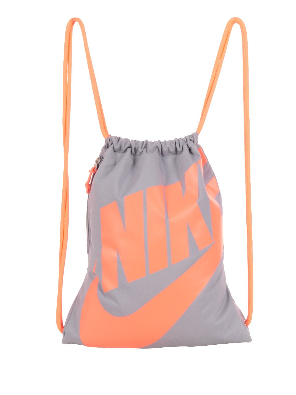 7f7117bc8c7e Nike Heritage Gymsack grey orange. Find this Pin and more ...