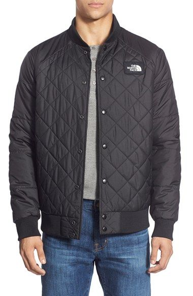 1af9ac70ae9b The North Face  Jester  Reversible Snap Front Jacket available at  Nordstrom