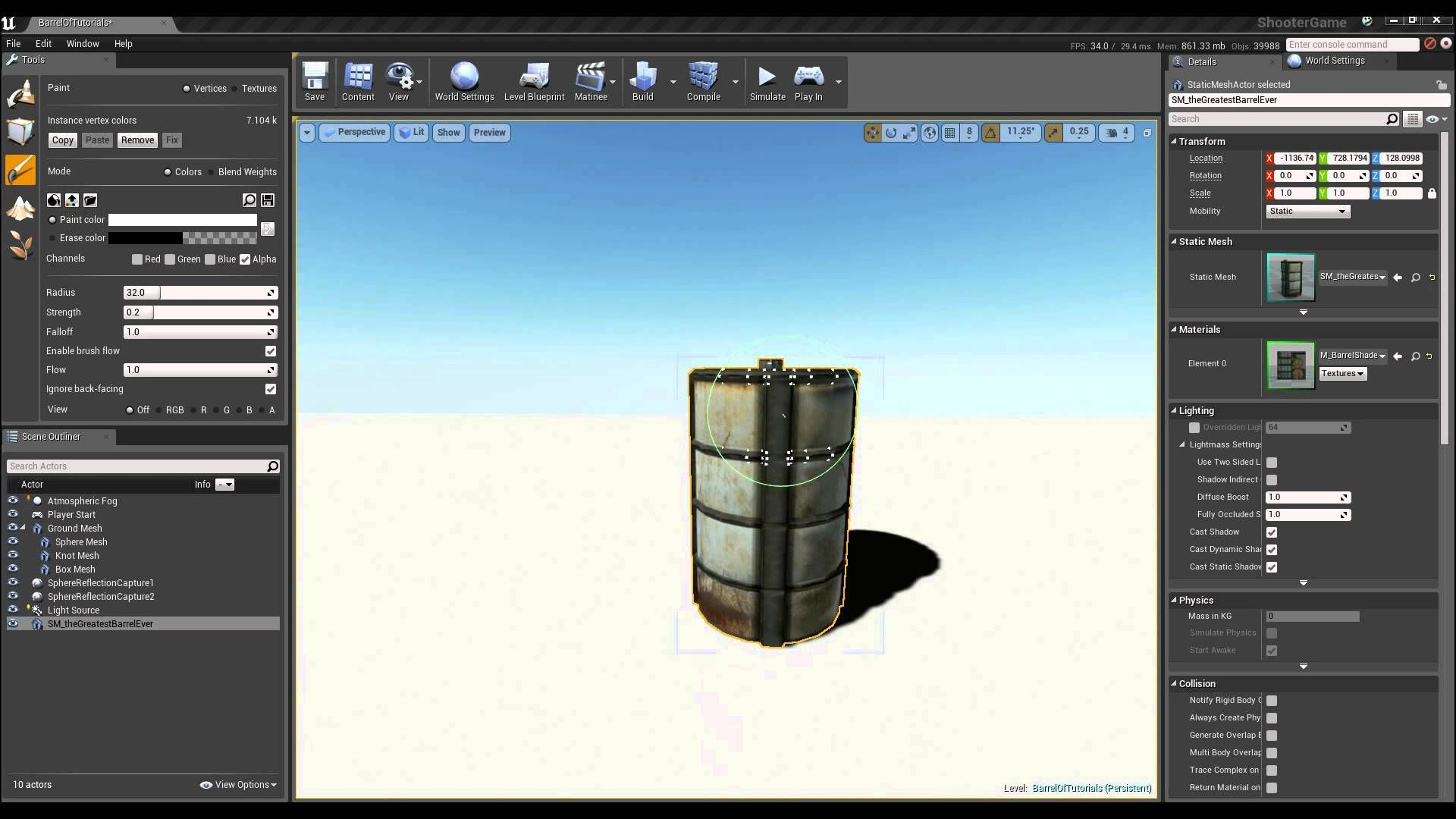 Learn how to save time on asset development by blending between
