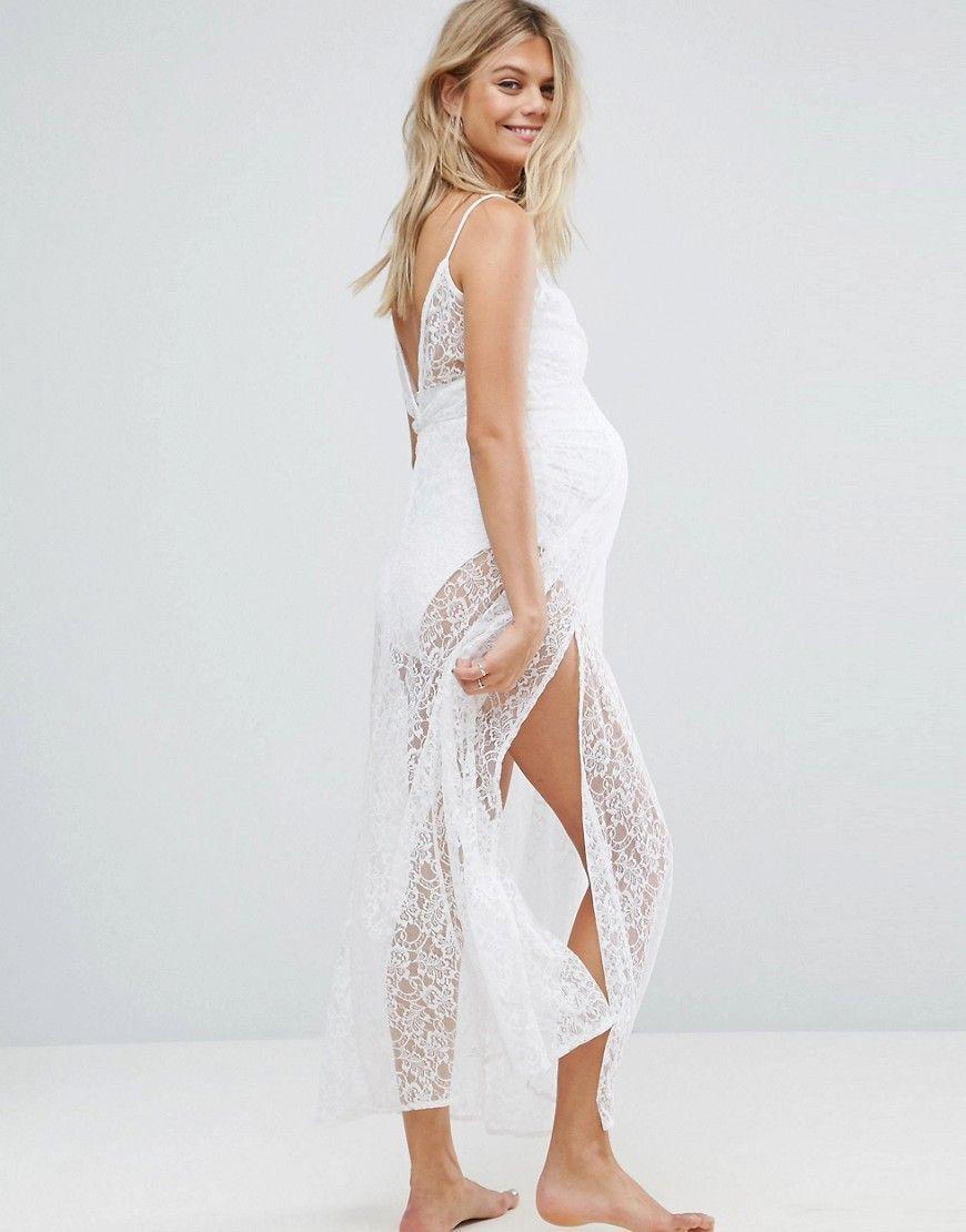 c5e227f97dbeb White Maternity Dress Asos