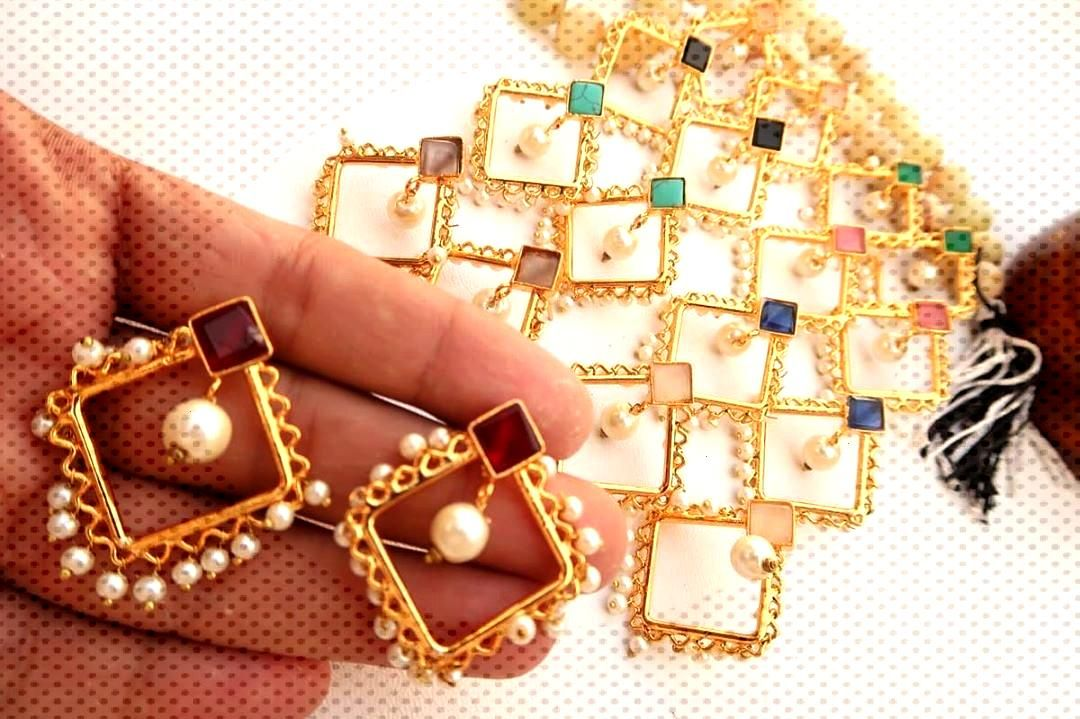 New  high quality  Egyptian Earrings.  limited stock  Price: 800/- each For Order plz dm send ur de