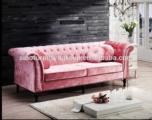 Made From Sinofur Best Sale Pink Sofa - Buy Pink Sofa,Pink Antique ...