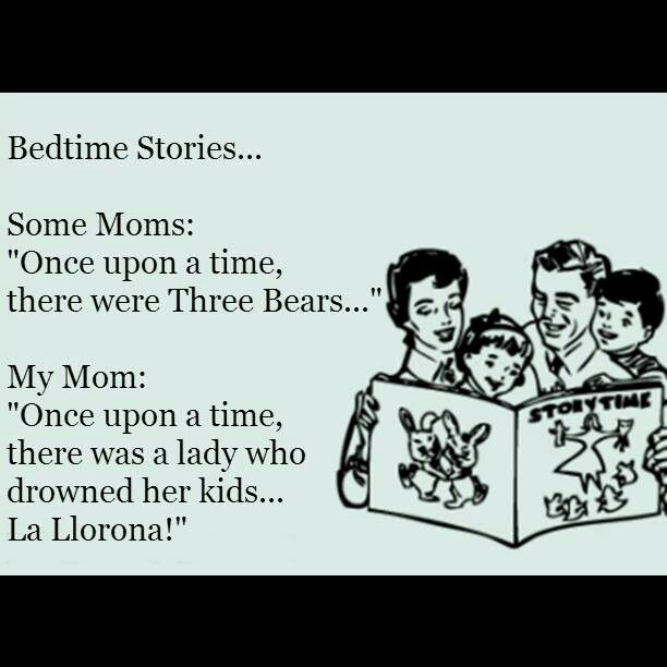 Mexican bedtime stories lol