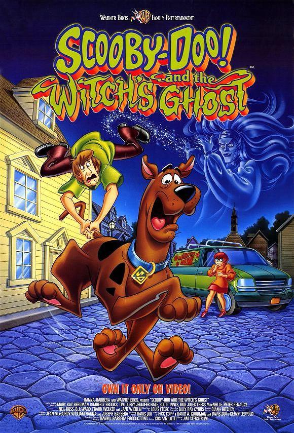 Scooby Doo Y El Fantasma De La Bruja Scooby Doo Peliculas Dibujos Animados Película De Scooby Doo