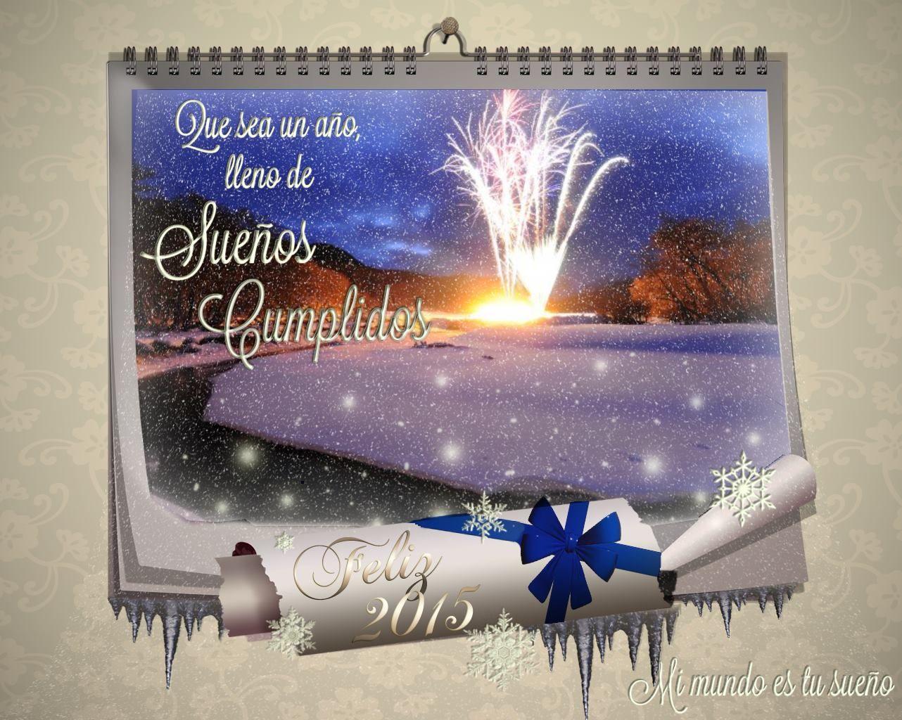 Feliz a o felicitaciones navide as pinterest feliz - Felicitaciones navidenas caseras ...