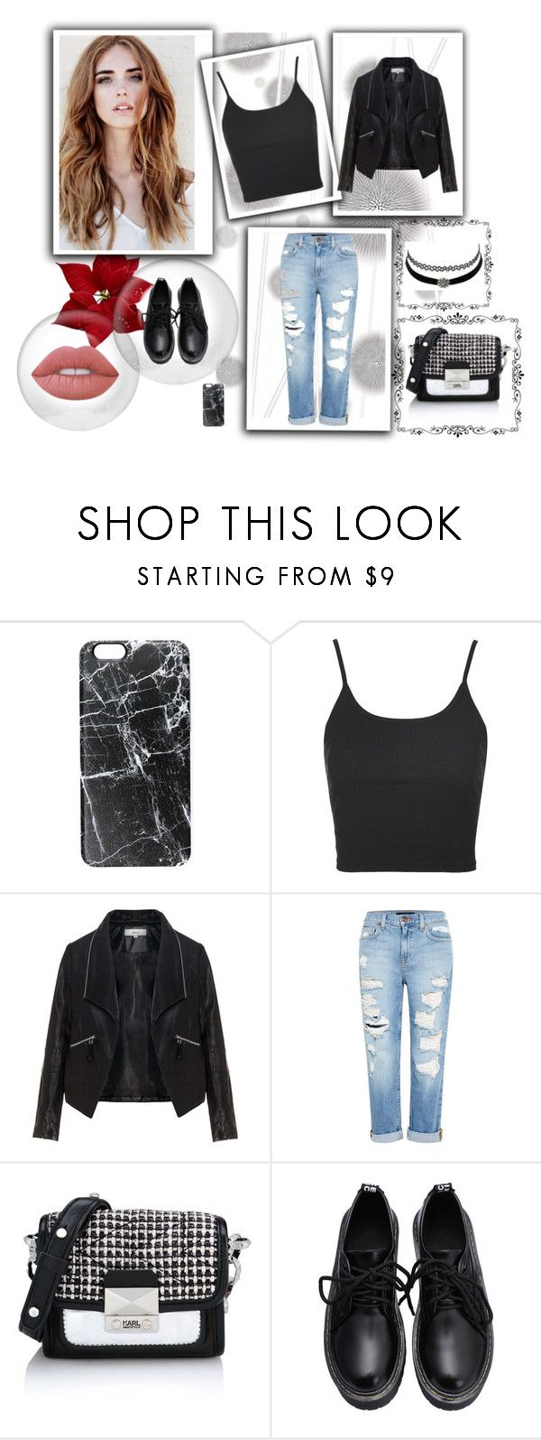 """""""Casual <3"""" by fey-loves-pizza on Polyvore featuring moda, Komar, Casetify, Topshop, Zizzi, Genetic Denim, Karl Lagerfeld, Charlotte Russe y Lime Crime"""