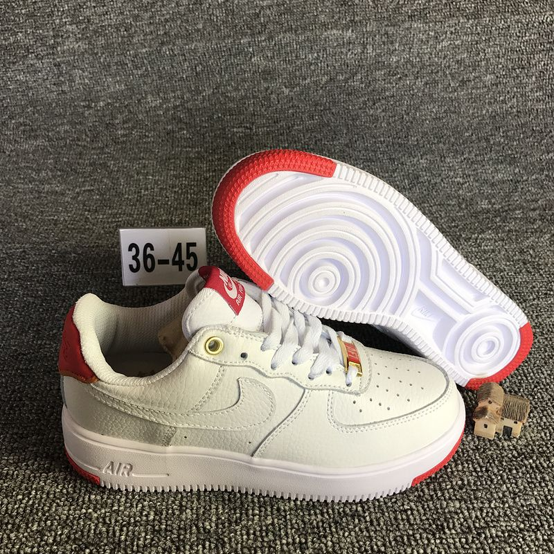 best service 4d81d fa03f 2018 Spring Fashion Nike Air Force 1 Unltra Jade White Red 919521-100